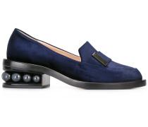 'Casati' Loafer mit verziertem Absatz