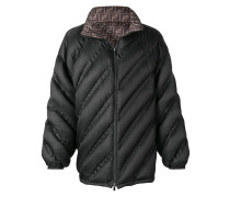 two tone padded jacket