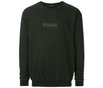 Sweatshirt mit Revolver-Applikation