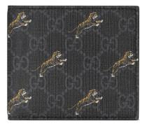 GG Portemonnaie mit Tiger-Print