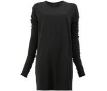 Kleid mit gerafften Ärmeln