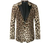 Sakko mit Leopardenmuster