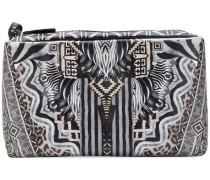 tribal print make-up bag