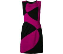 contrast sleeveless dress