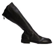 zipped knee-high boots