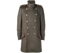 Doppelreihiger Military-Mantel