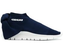 Sock-Sneakers mit Schleifenapplikation