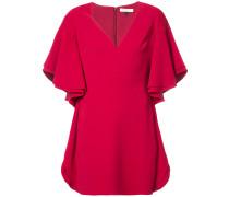 wide sleeve minidress