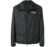 patch embellished jacket