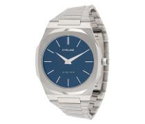 Schlanke Armbanduhr