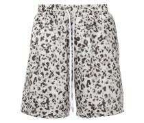 leopard print bermuda shorts