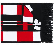 Schal mit grafischem Design