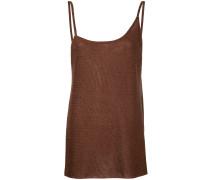 asymmetric side split camisole