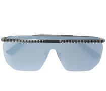 Oversized-Sonnenbrille mit Verzierung