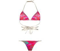 'Hawn' Bikini mit Print
