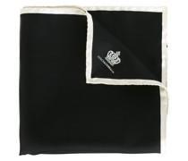 Seideneinstecktuch mit Krone-Print