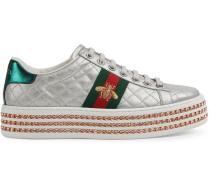 'Ace' Sneakers mit Kristallen