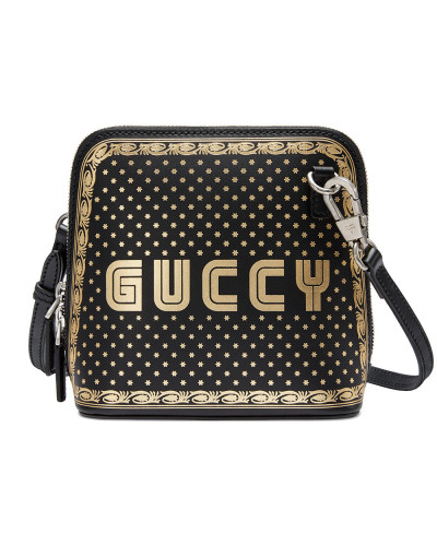 Gucci Damen Guccy print mini shoulder bag Erscheinungsdaten Günstig Online Billige Sast Verkauf Beliebt Verkauf Fälschung Rabatt 100% Authentische tGS2QVIY