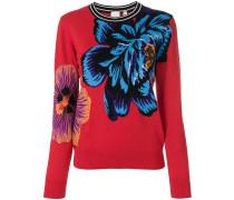 Ocean intarsia sweater