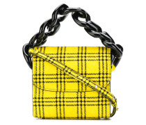Mini-Tasche mit Karomuster