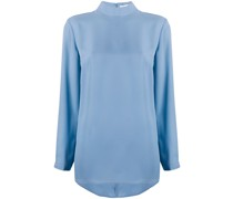 'Macy' Bluse mit Stehkragen