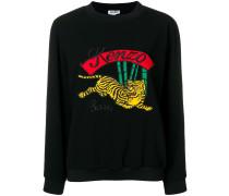 Sweatshirt mit Tiger-Motiv
