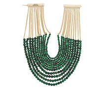 'Esplosione' Halskette mit Perlen