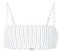 Tulum stripe square bikini top