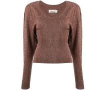 Pullover mit Glitter-Finish
