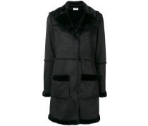 Mantel aus Faux Shearling