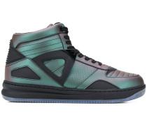 Schimmernde High-Top-Sneakers