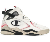 retro-look high-top trainers