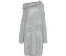 Schulterfreies Pulloverkleid
