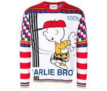 Pullover mit Charlie-Brown-Motiv