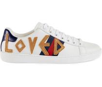 'Ace' Sneakers mit Stickerei