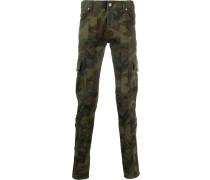Military-Hose mit Camouflagemuster
