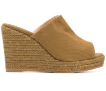 woven platform wedge sandals