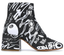 graffiti boots