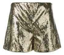 Shorts mit Pailletten