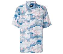 cloud print shirt