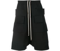 Cargo-Shorts mit tiefem Schritt