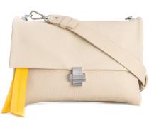 pebbled shoulder bag