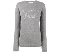'Je t'aime Jane' Pullover