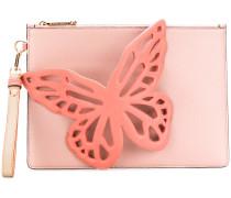 Clutch mit Schmetterling