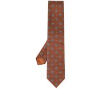 Krawatte mit Kreis-Print