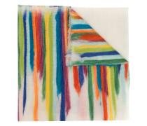 Schal mit Regenbogenstreifen