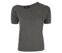T-Shirt mit asymmetrischem Ausschnitt