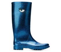 logo high rain boots