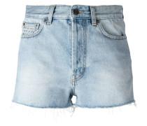 Jeans-Shorts mit Nieten