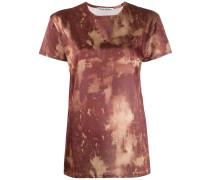 bleach print T-shirt